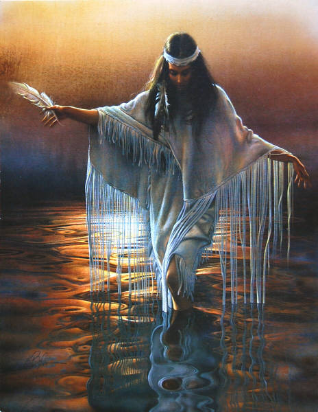 GOLDEN REFLECTIONS by Lee Bogle - Leanin' Tree Collectors' Card BKL22439