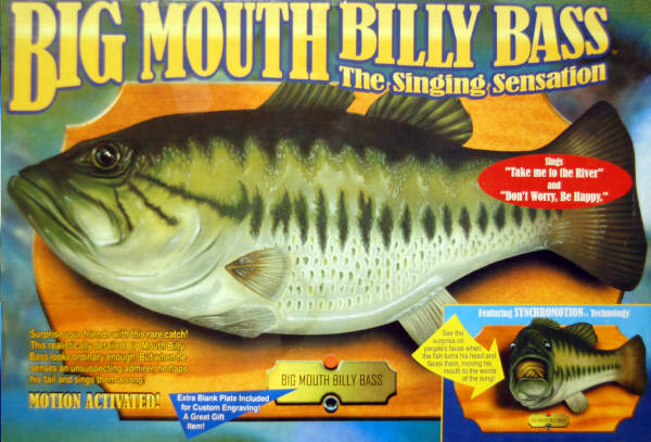 Big Mouth Billy Bass The Singing Sensation Fish 2000