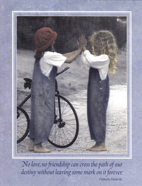 Leanin Tree Collectors Card Frl22430 Forever Friends By