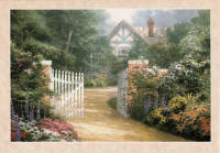 Leanin' Tree Greeting Card BDT18155 by Thomas Kinkade