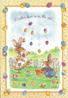 Leanin' Tree Easter Greeting Card EDT44073 by Michael Abrams, 2000