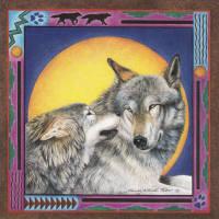 Leanin' Tree Greeting Card LVS36190 by Nancy Wood Taber, 1999