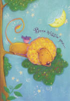 Leanin' Tree Miss You Greeting Card MYT40147 by Viv Eisner, 2001