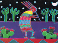 Leanin' Tree Thank You Greeting Card TKG27722 by Bob Bonn, 1997