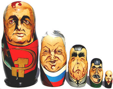 Political Leaders of USSR & Russia