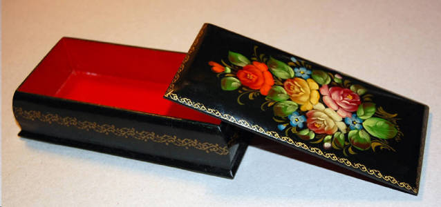 Russian Lacquered Box