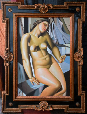 S. Alexander. Nude portrait of a woman. Size of picture 24-inch x 36-inch. Sold with frame 37-inch x 49-inch. $8,995.